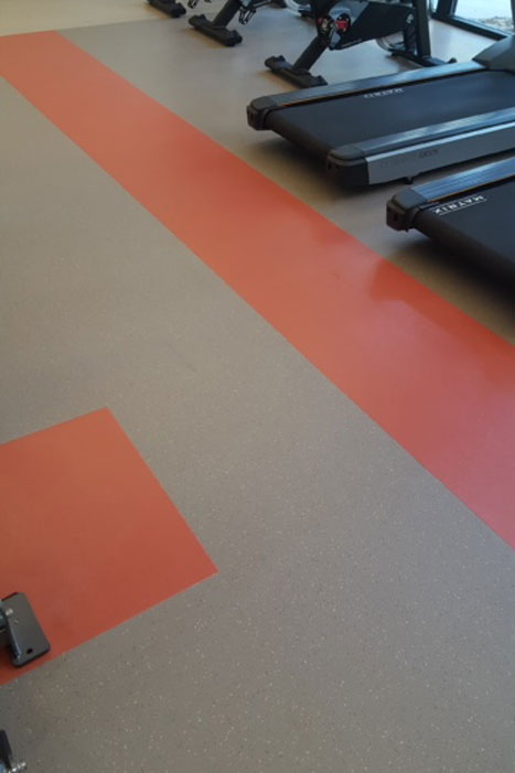 Gym Floor Cleaning After